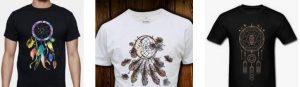 camisetas atrapasueños para hombre
